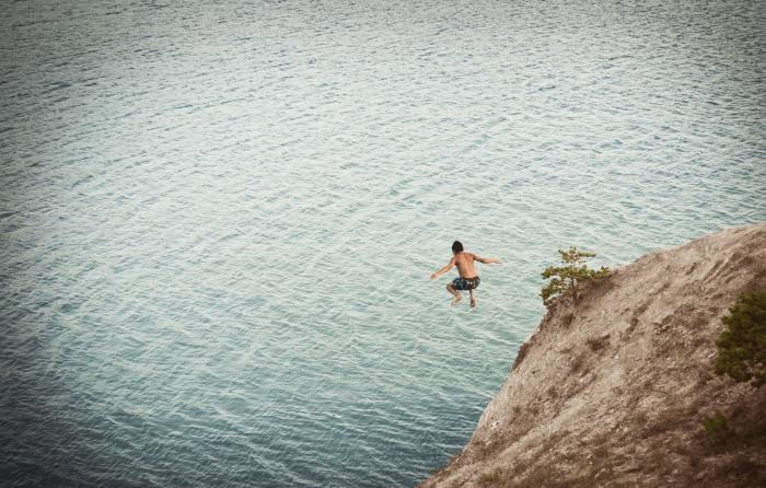 Selbstvermarktung - der Sprung ins Wasser