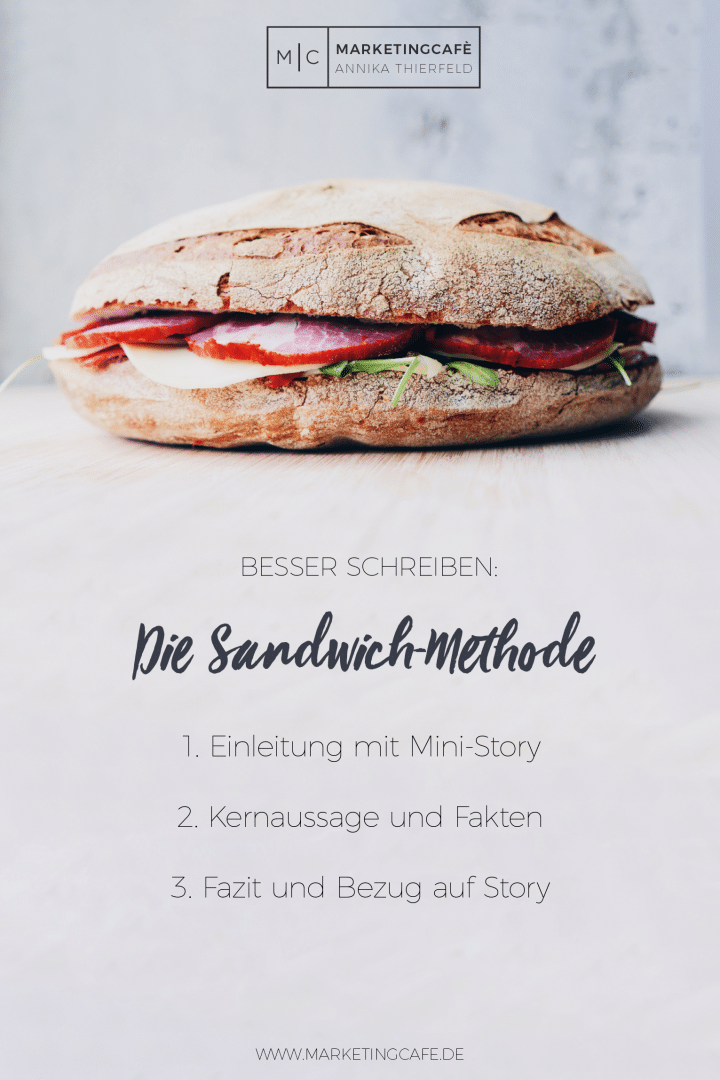 Storytelling: Die Sandwich-Methode