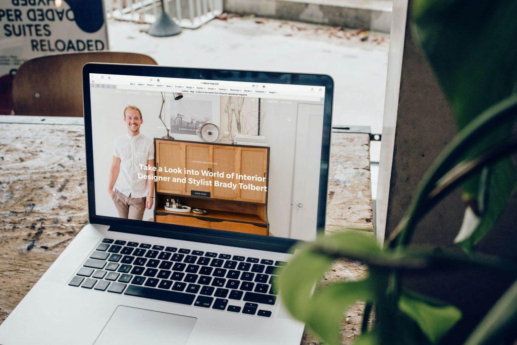 Selbstmarketing durch eine aktuelle Webseite